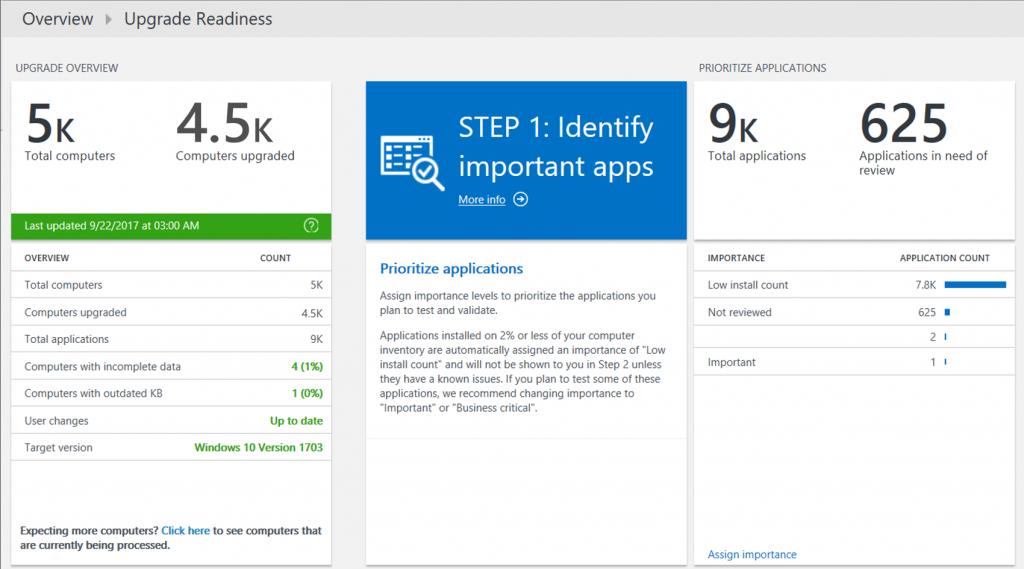 ステップ 1: 重要なアプリを特定する