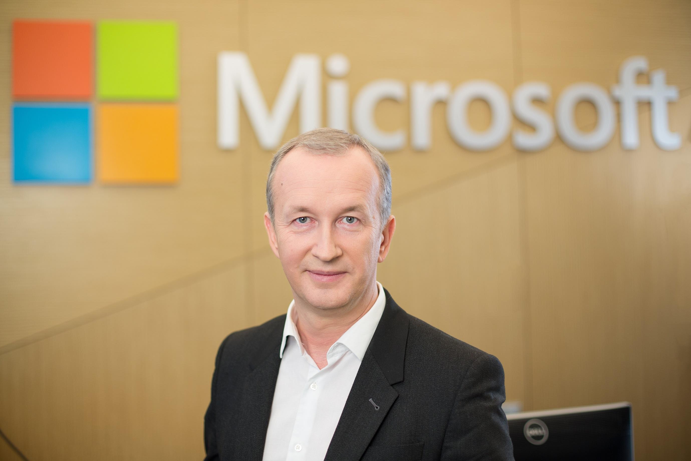 """Ainis Kavaliauskas, """"Microsoft Lietuva"""" generalinis direktorius"""