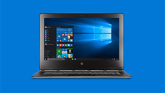 Jauniniet uz operētājsistēmu Windows10 (attēlā dators)