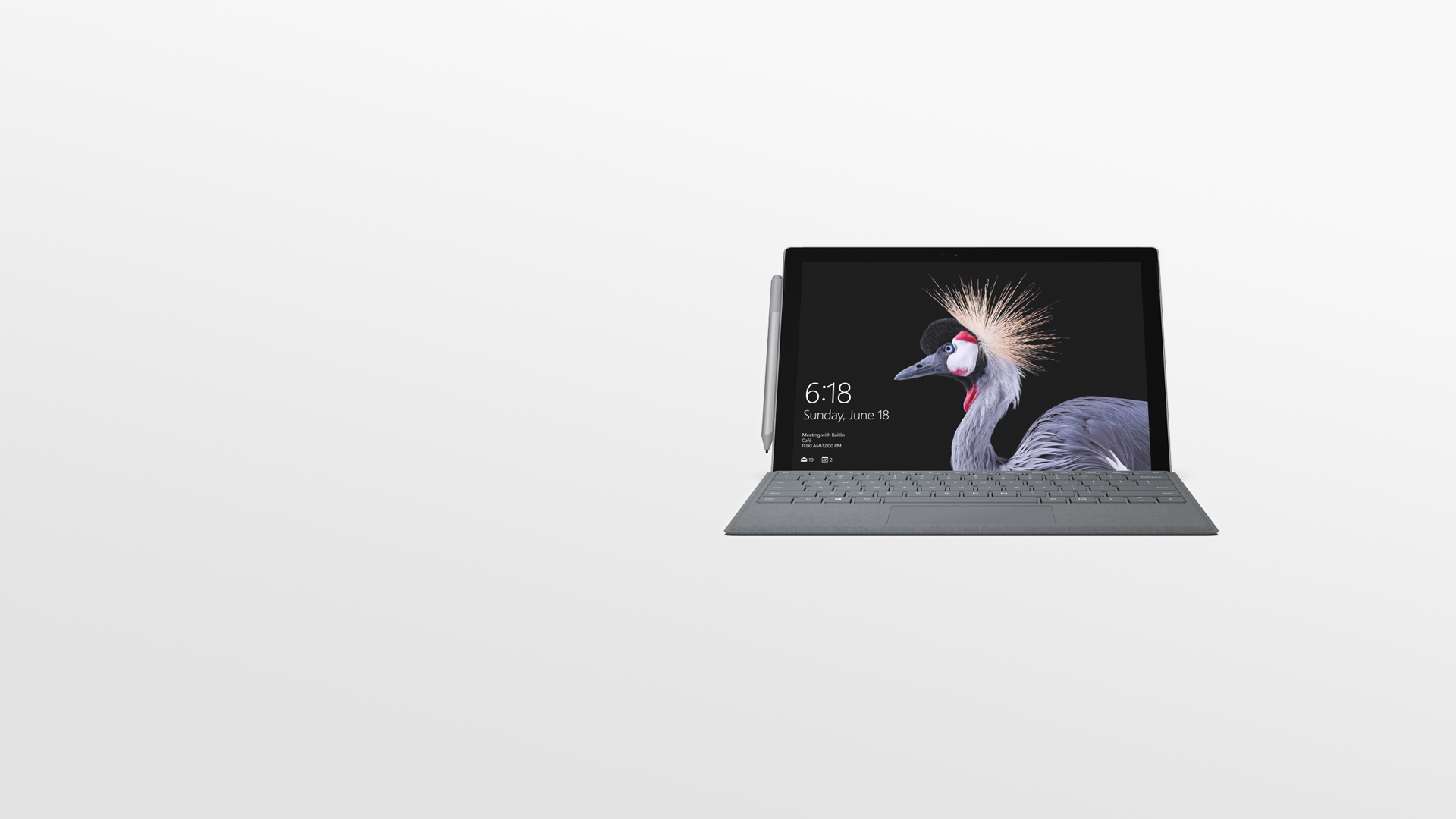 Surface Pro med Surface-penn