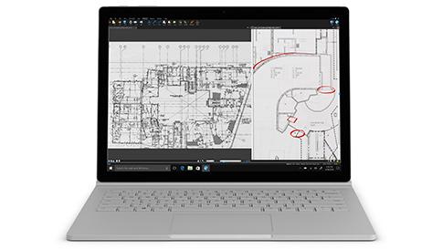 Surface Book 2 med 13,5-tommers PixelSense™-skjerm og Intel® Core™ i5-7300U-prosessor for i5 13.5
