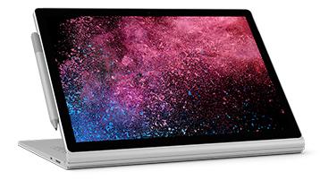 Surface Book 2 i visningsmodus