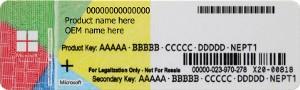 Certificate of Authenticity (COA)