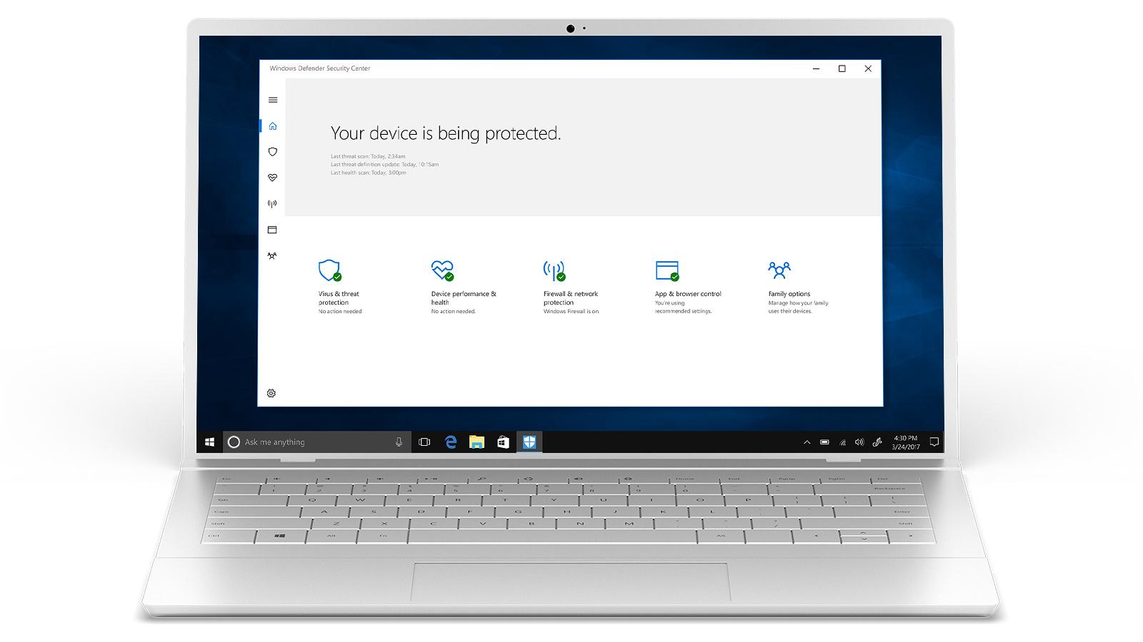 Windows 10-sikkerhet