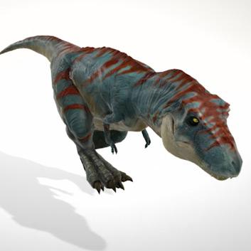 Dinosaurus in 3D