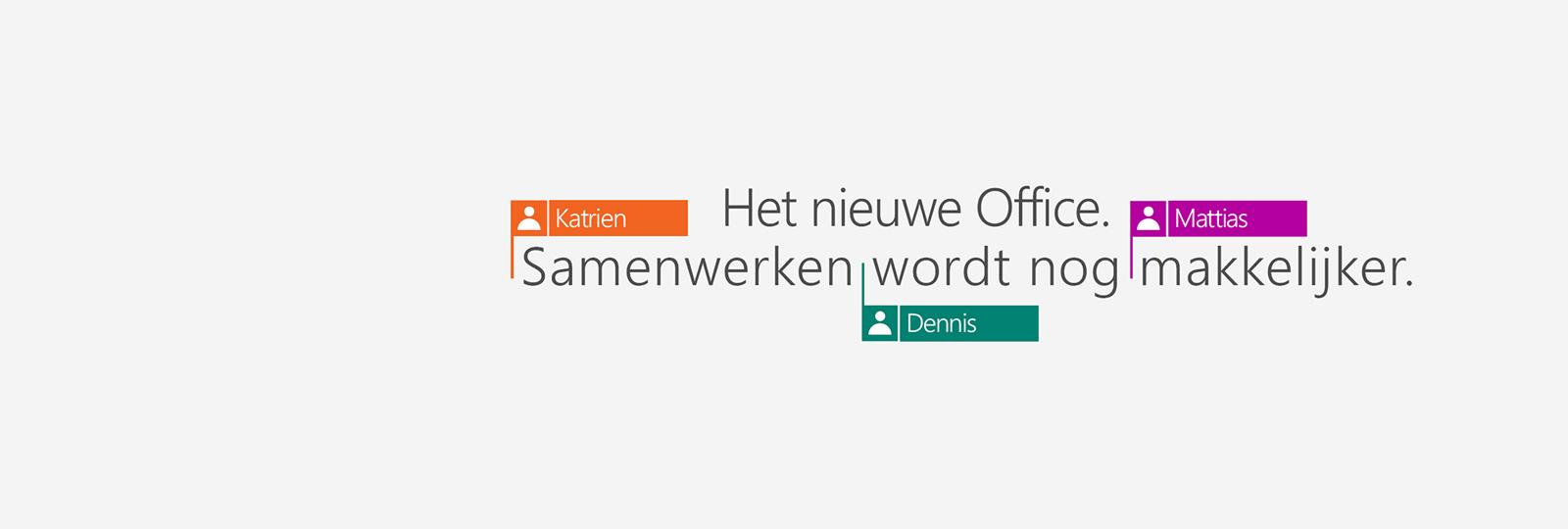 Koop Office 365 met de nieuwe 2016-apps.