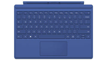 Surface Pro 4 Type Cover (blauw)
