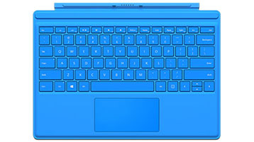 Surface Pro 4 Type Cover (felblauw)