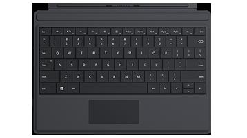 Surface 3 Type Cover (zwart)
