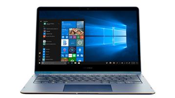 2-in-1 apparaat met Windows 10-scherm