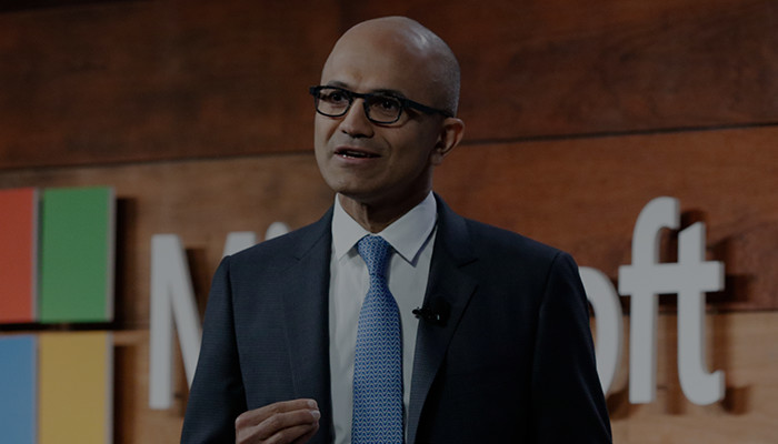 Bekijk de presentatie over Microsoft-cyberbeveiliging met Satya Nadella.