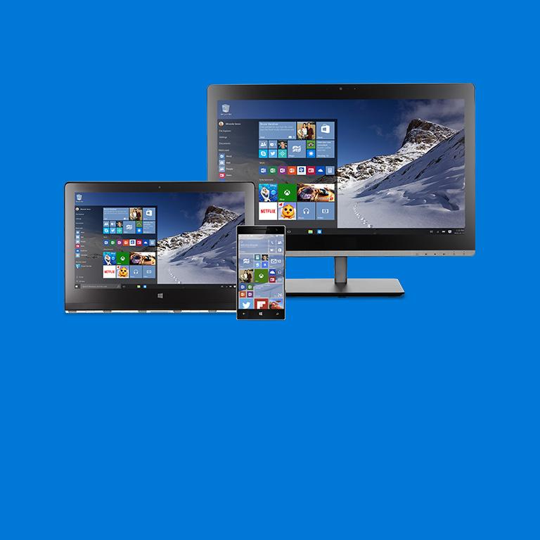 Windows 10 komt eraan. Lees meer.