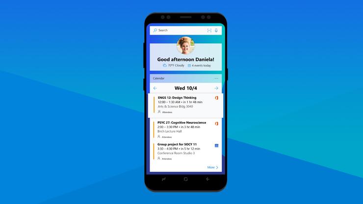 Microsoft Launcher-app