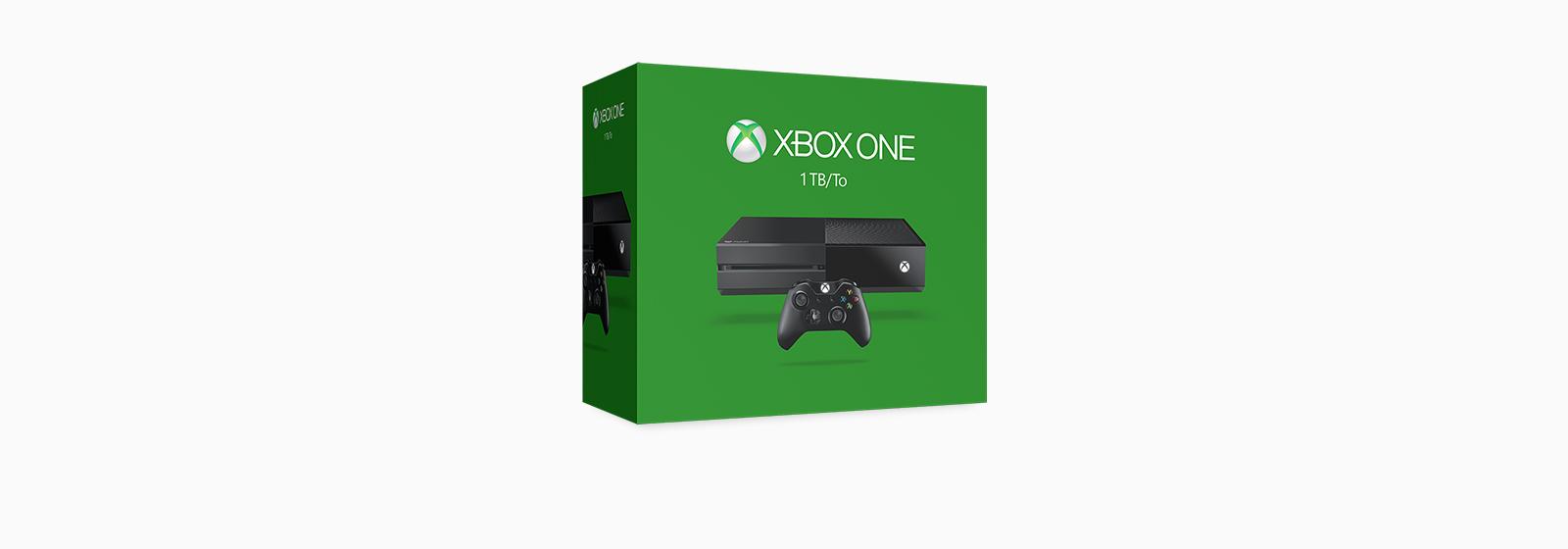 Lees meer over de nieuwe 1 TB Xbox One console.