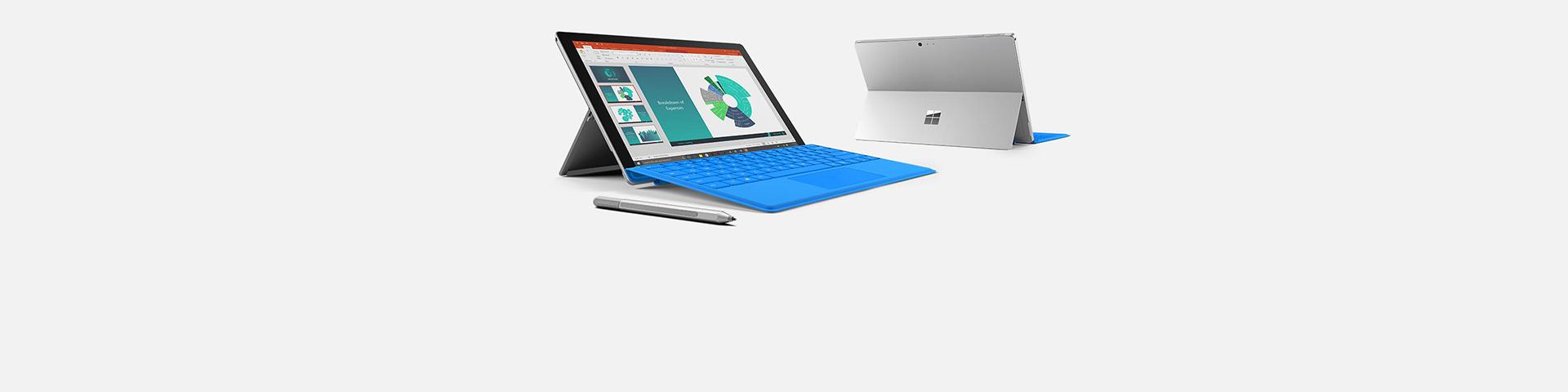 Surface Pro 4-enheter, les mer om dem