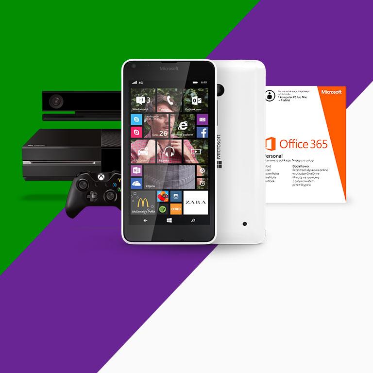 Zobacz nowe oferty urządzeń z Windows i Office 365.