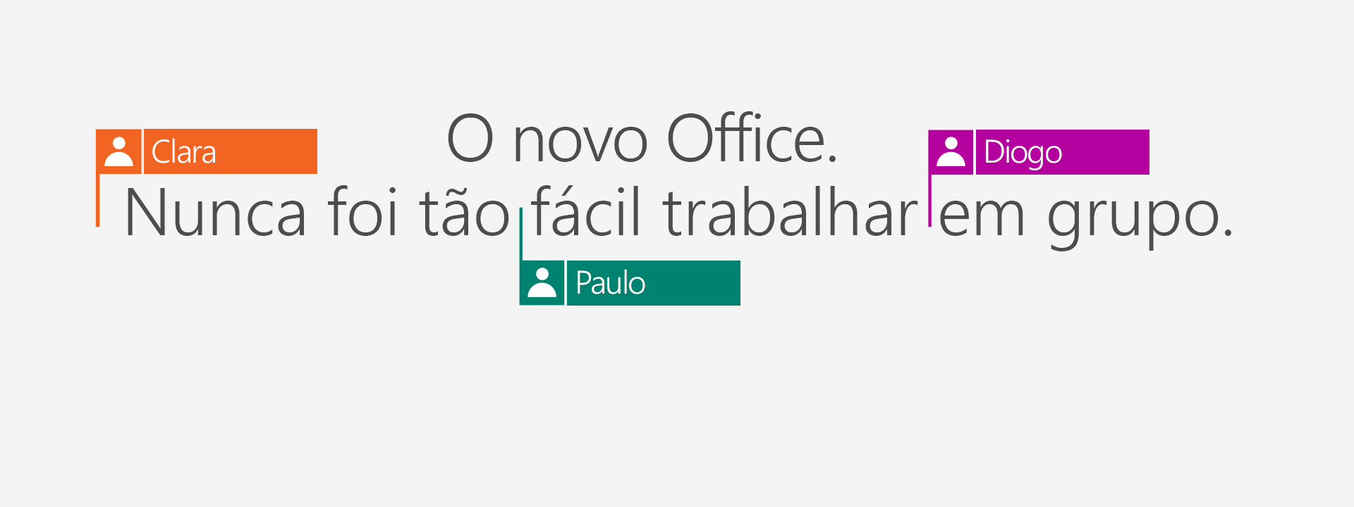 Compre o Office 365 e obtenha os novos aplicativos de 2016.