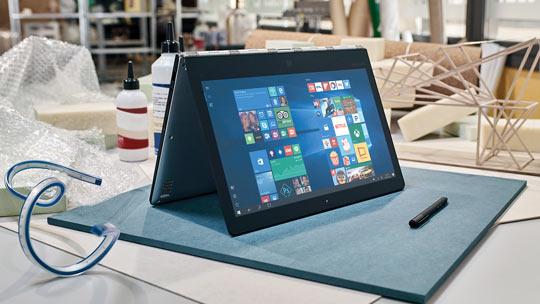 Notebook e Pcs conversíveis, visite a Microsoft Store