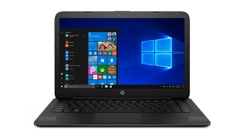 Laptop executando o Windows10 em modo S