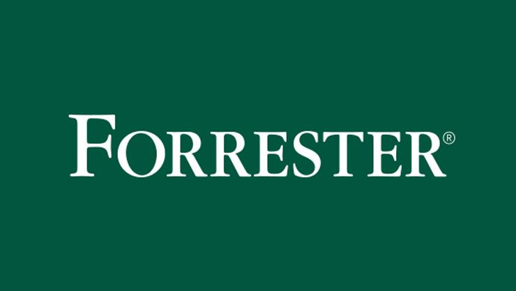 Logotipo da marca comercial da Forrester