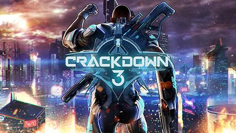 Tela do jogo Crackdown 3