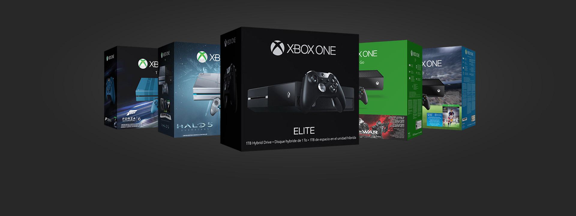 Mantenha-se entretido por horas com um pacote Xbox One novinho em folha.
