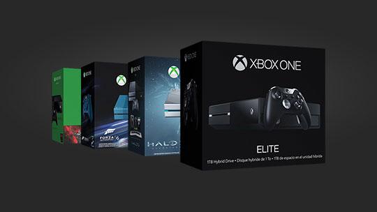 Pacotes para a Xbox One, compre agora