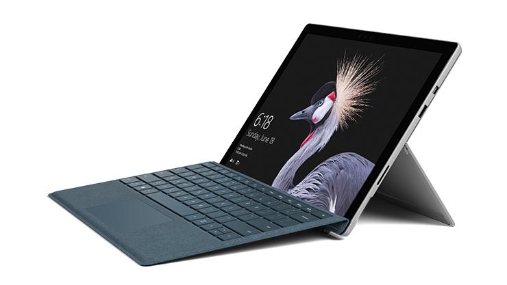 Portátil Surface Pro com Capa Teclado.