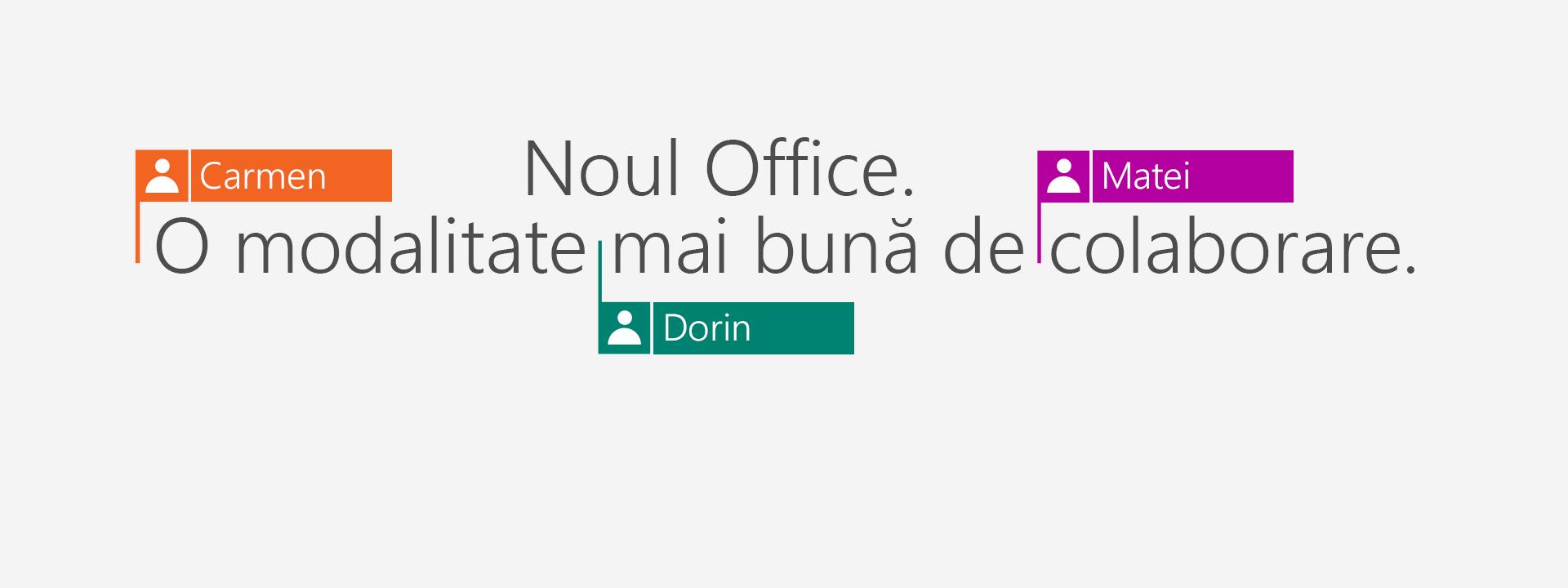 Cumpărați Office 365 pentru a obține aplicațiile noi din 2016.