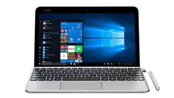 ASUS T103 с начальным экраном Windows 10