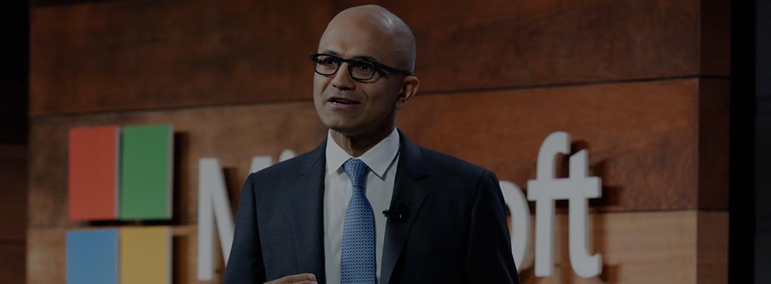 Посмотрите доклад Сатьи Наделлы (Satya Nadella) о системе кибербезопасности Microsoft.