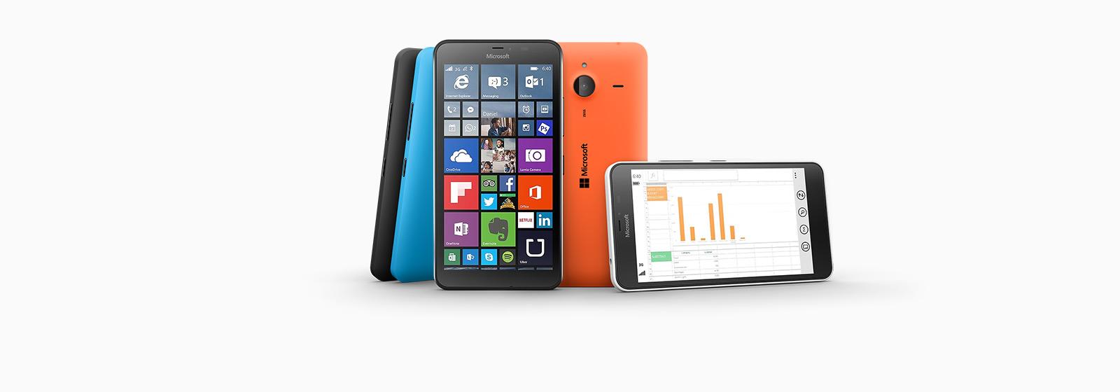 Купите Lumia 640 XL со встроенным Office 365 Персональный.