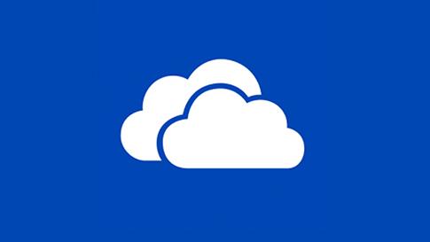Плитка приложения OneDrive