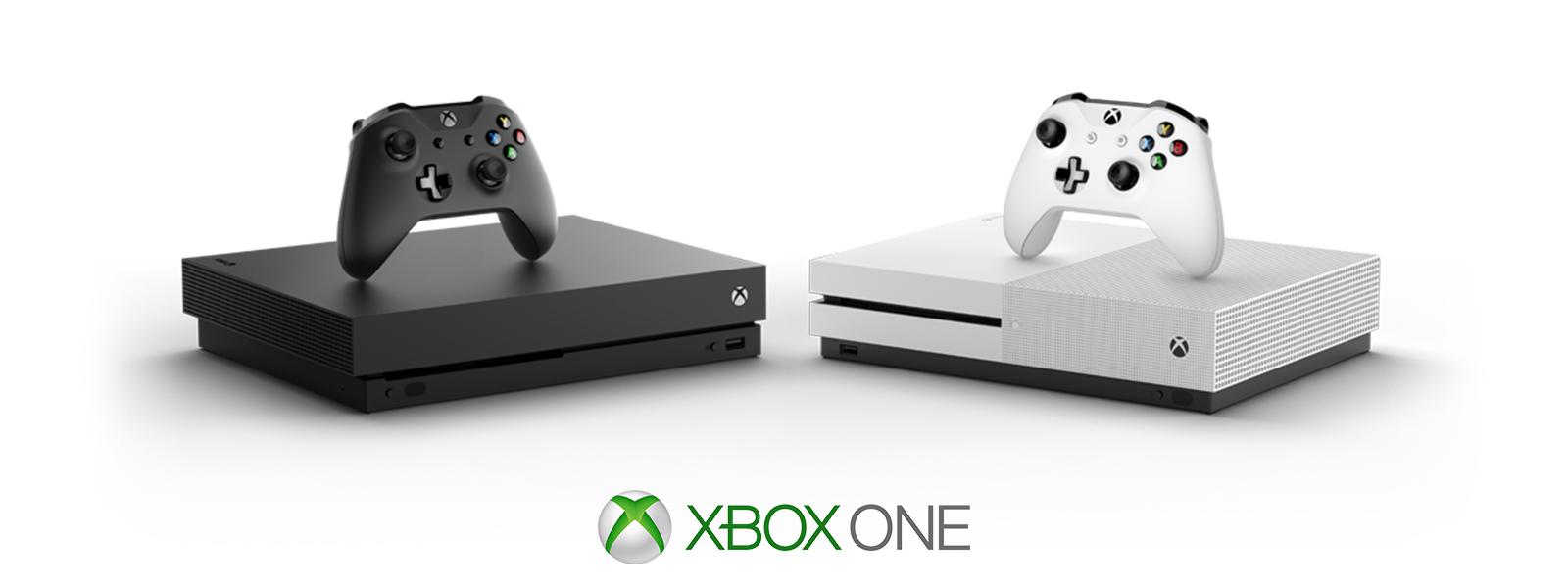 Xbox One X и Xbox One S