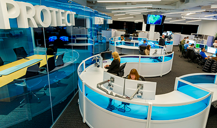 Image of a modern workplace.