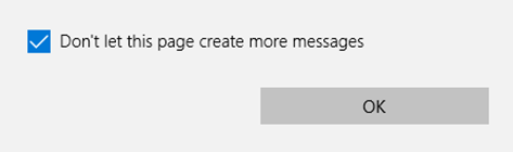 Dialogue loop protection for Microsoft Edge.