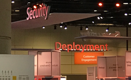 Image taken at the Microsoft Ignite Conference.