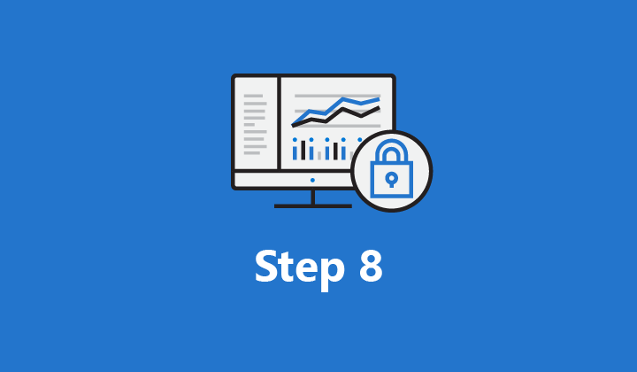 """Image which says """"Step 8"""""""