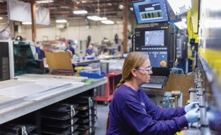 Aerospace engineering company produces high-tolerance, precision machined components and assemblies, for leading manufacturers of aircraft, aero structures, and defense platforms.