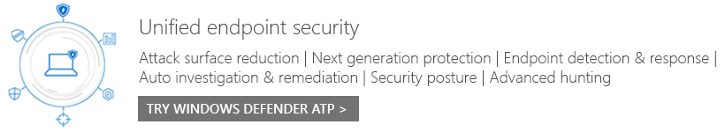 Unified endpoint security.