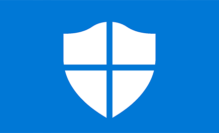 Windows Defender icon.