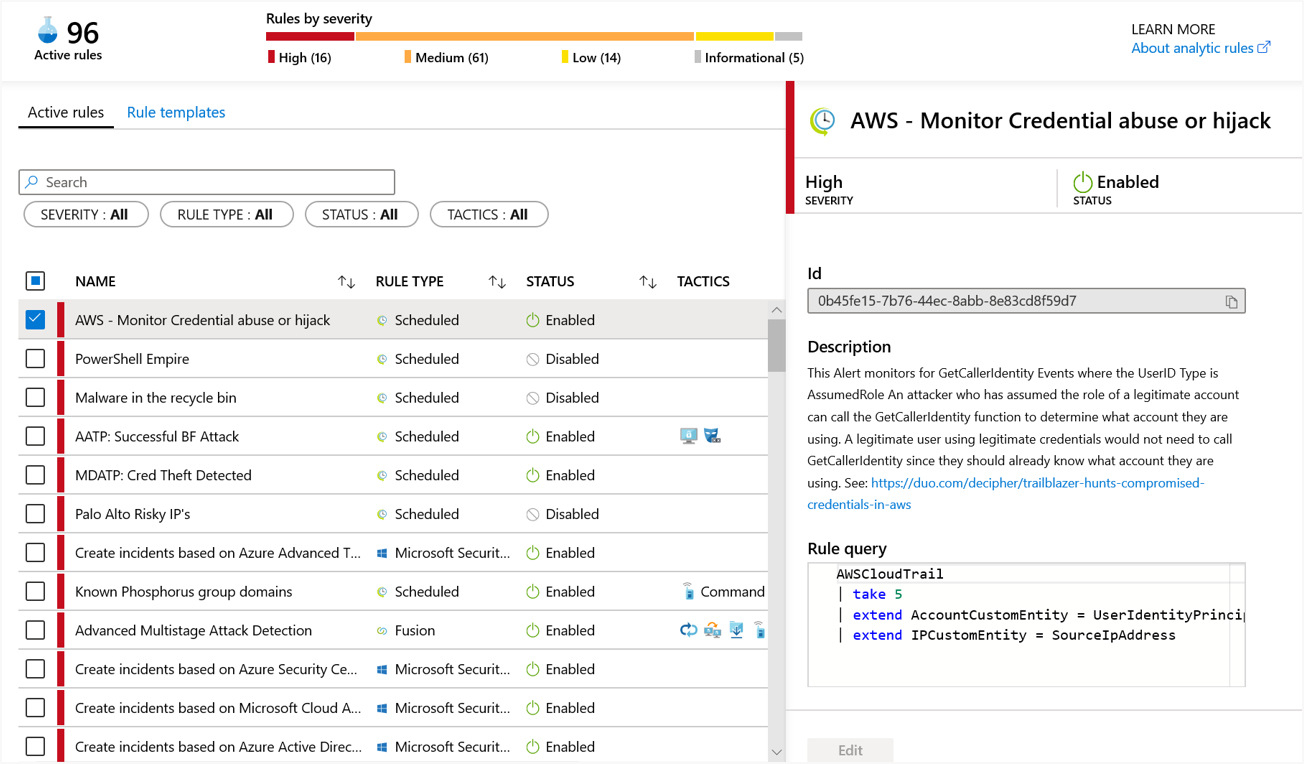 Image showing credential abuse in AWS CloudTrail.
