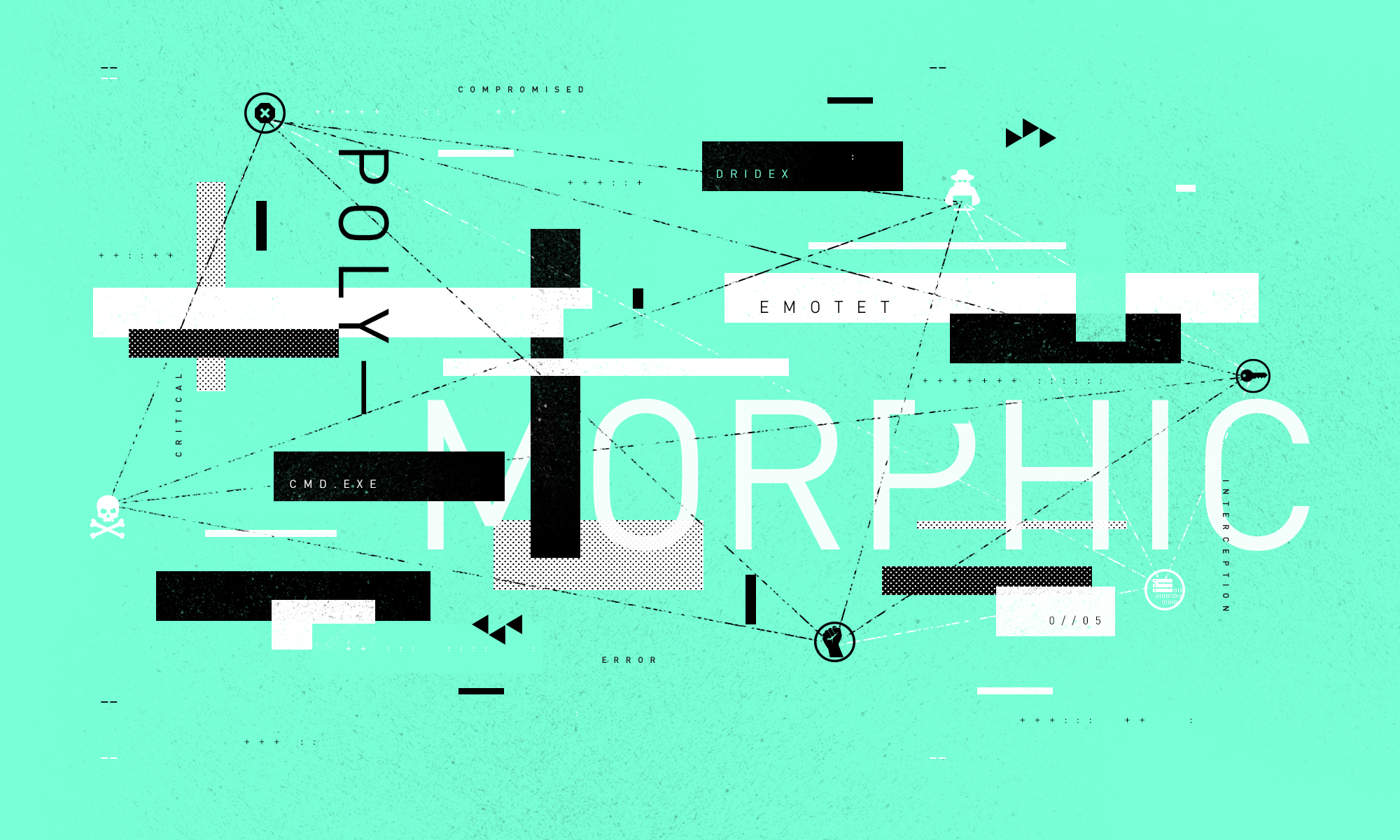 """Designer image whose text reads """"Polymorphic."""""""