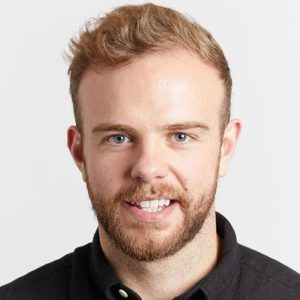 A headshot of tuart Gregg, Cyber Security Operations Lead, ASOS.