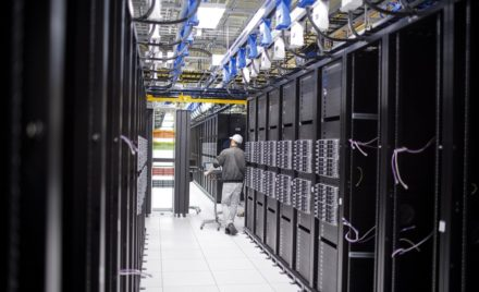 IT professionals build and maintain the LinkedIn server farm.