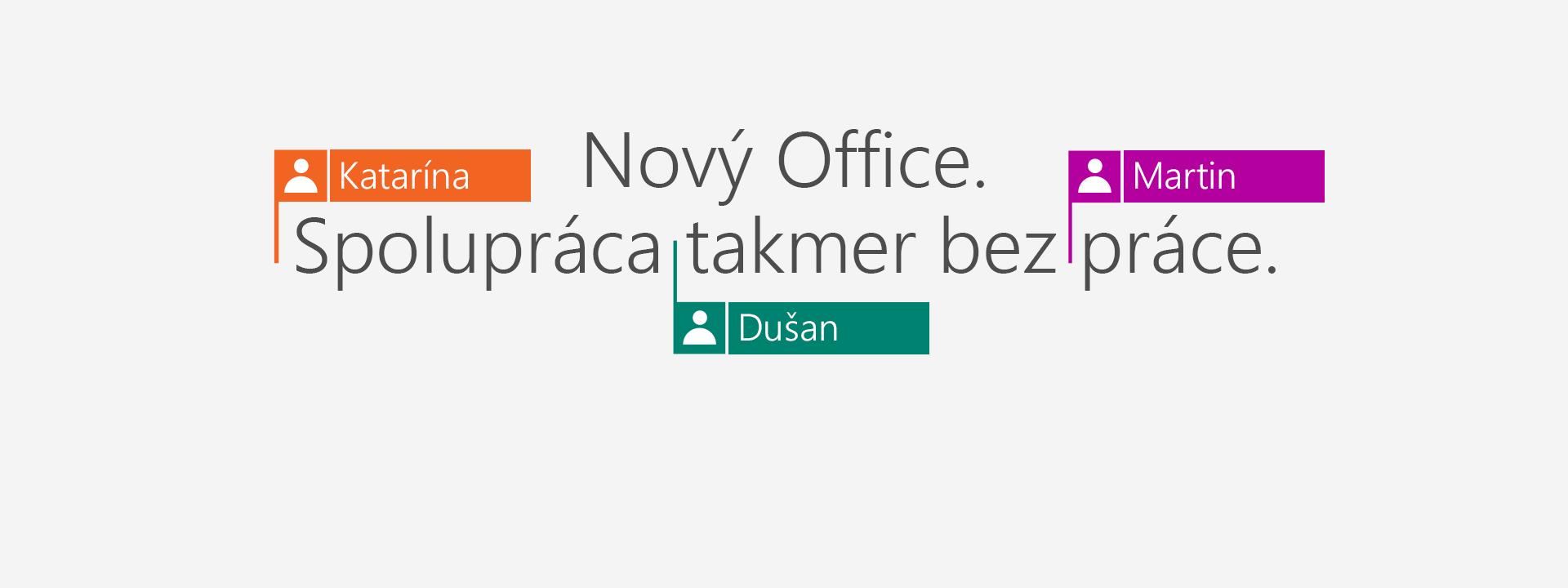 Kúpte si Office 365 a získajte nové aplikácie 2016.