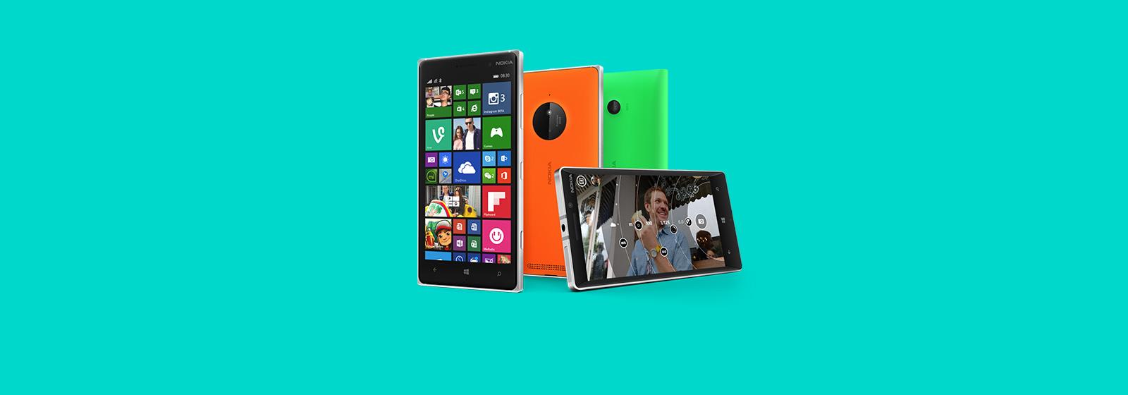 Naredite več s pametnim telefonom. Več informacij o napravah Lumia.