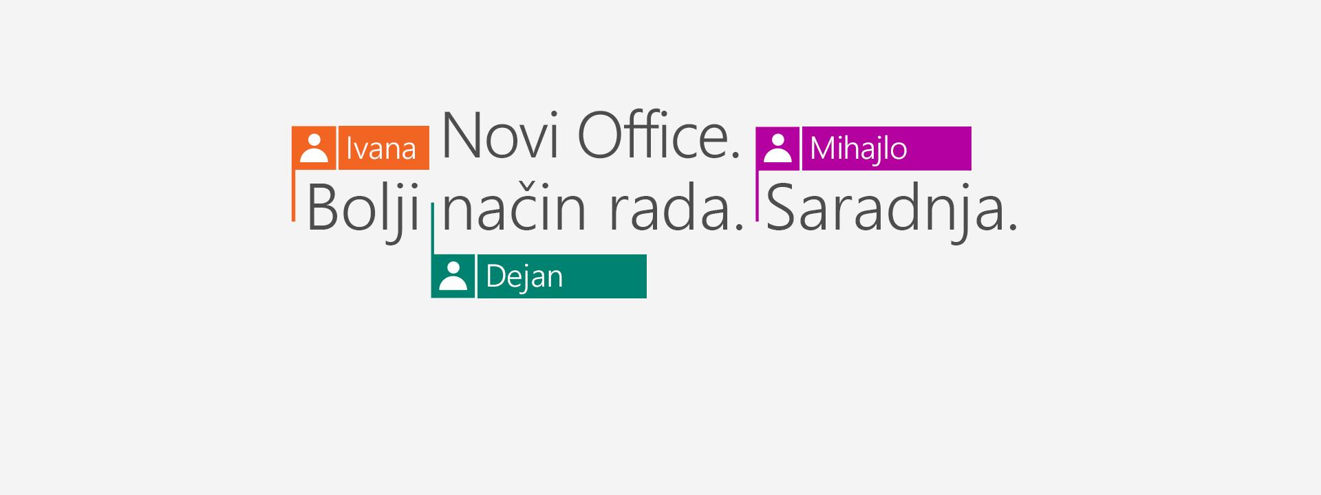 Kupite Office 365 da biste dobili nove aplikacije za 2016.