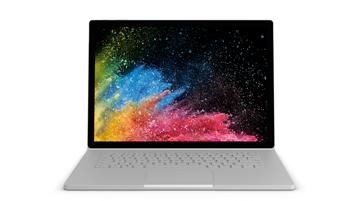 Bild på Surface Book 2-enhet