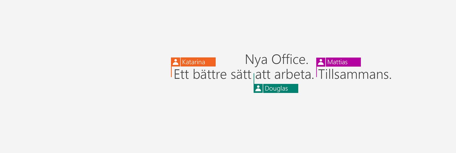 Köp Office 365 och få 2016 års appar.